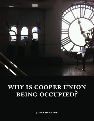 why-is-cooper-union-being-occupied