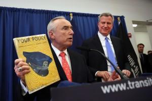Mayor-Elect Bill De Blasio Announces William Bratton As City's Next Police Chief
